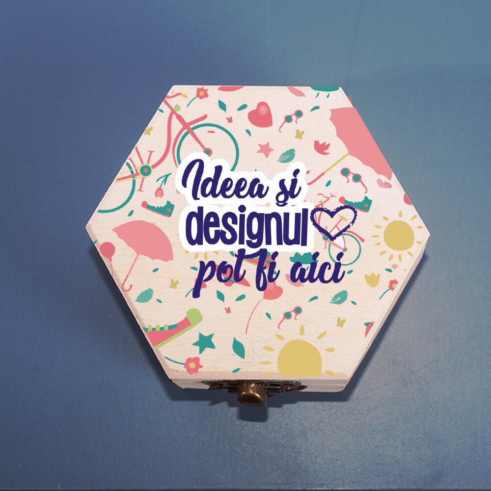 Cutie bijuterii personalizata ideea ta