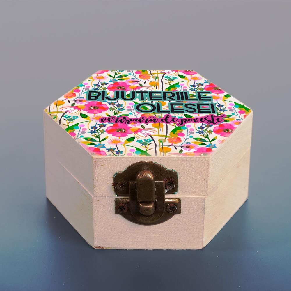 Cutie bijuterii personalizata verisoara