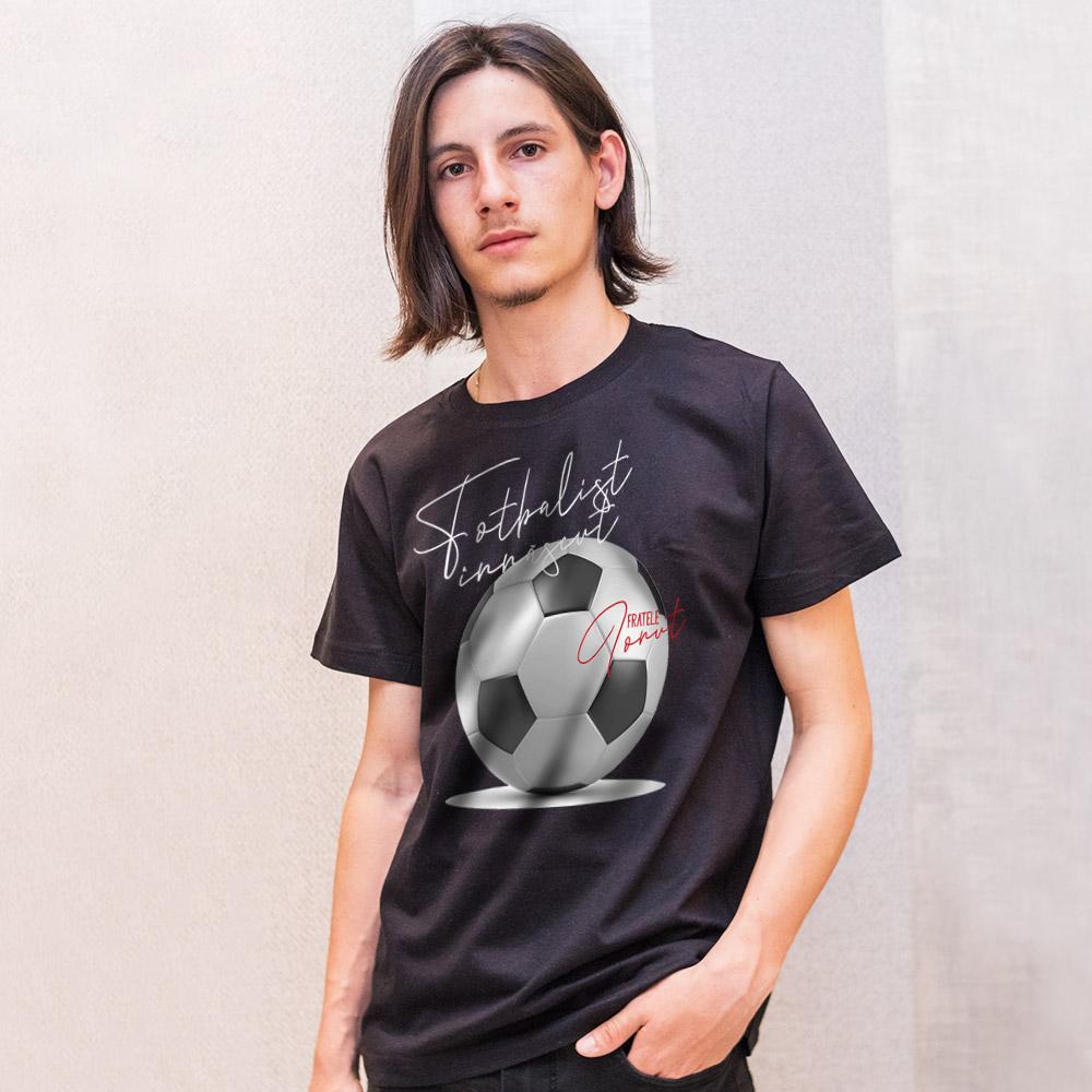 Tricou personalizat negru frate