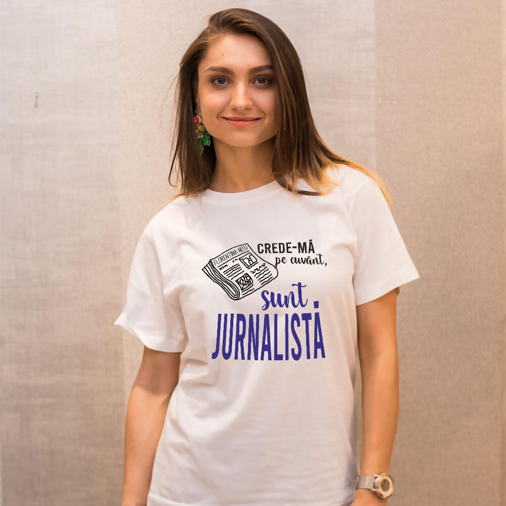 cadouri personalizate jurnalisti tricouri