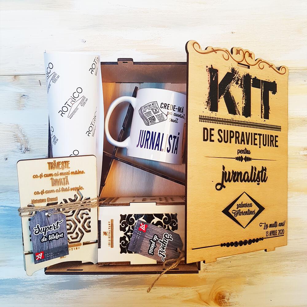 cadouri personalizate pentru jurnalisti