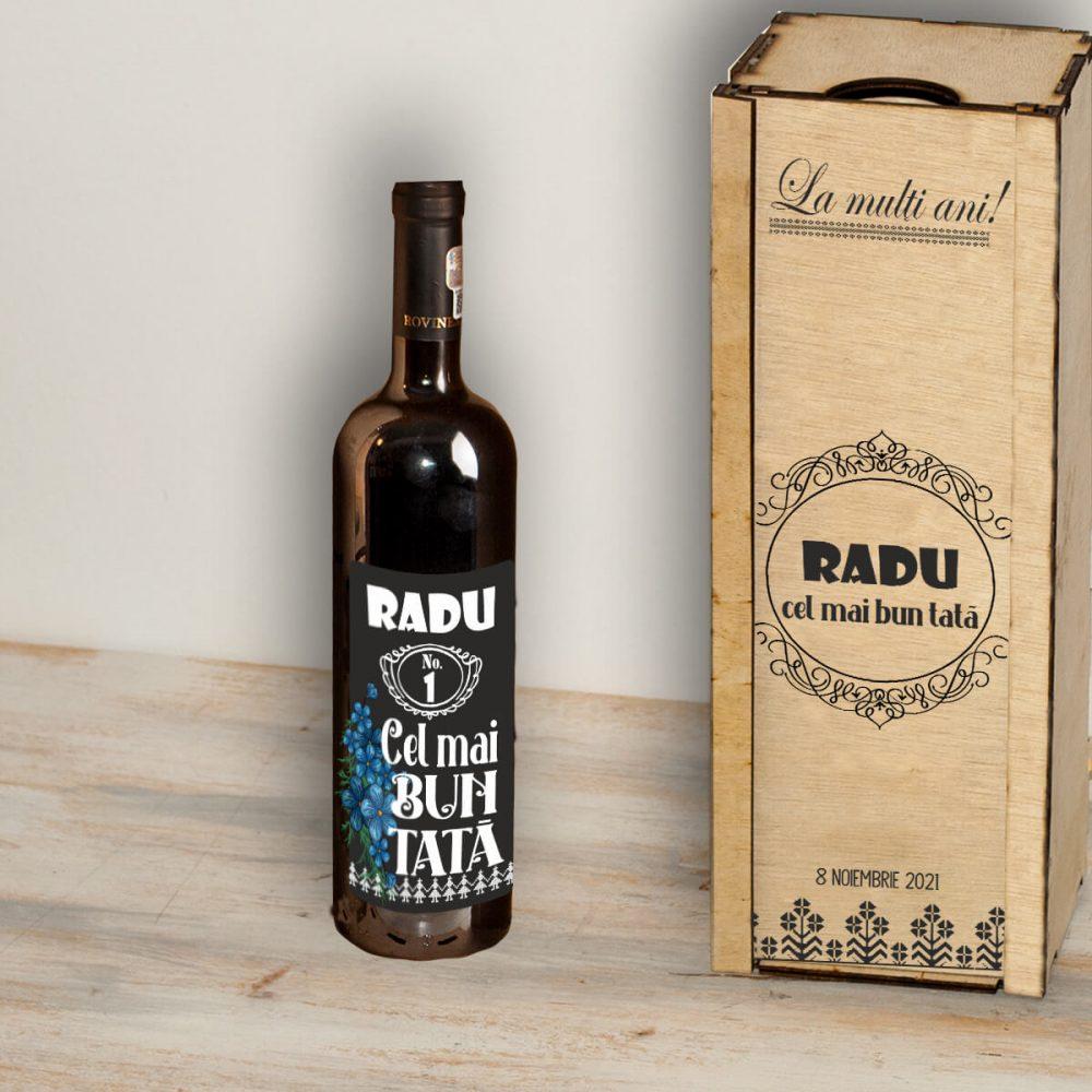 cutie de vin personalizata