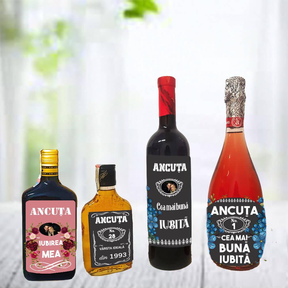 sticle etichete personalizate
