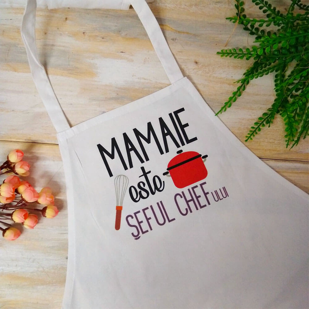 sort personalizat mamaie chef