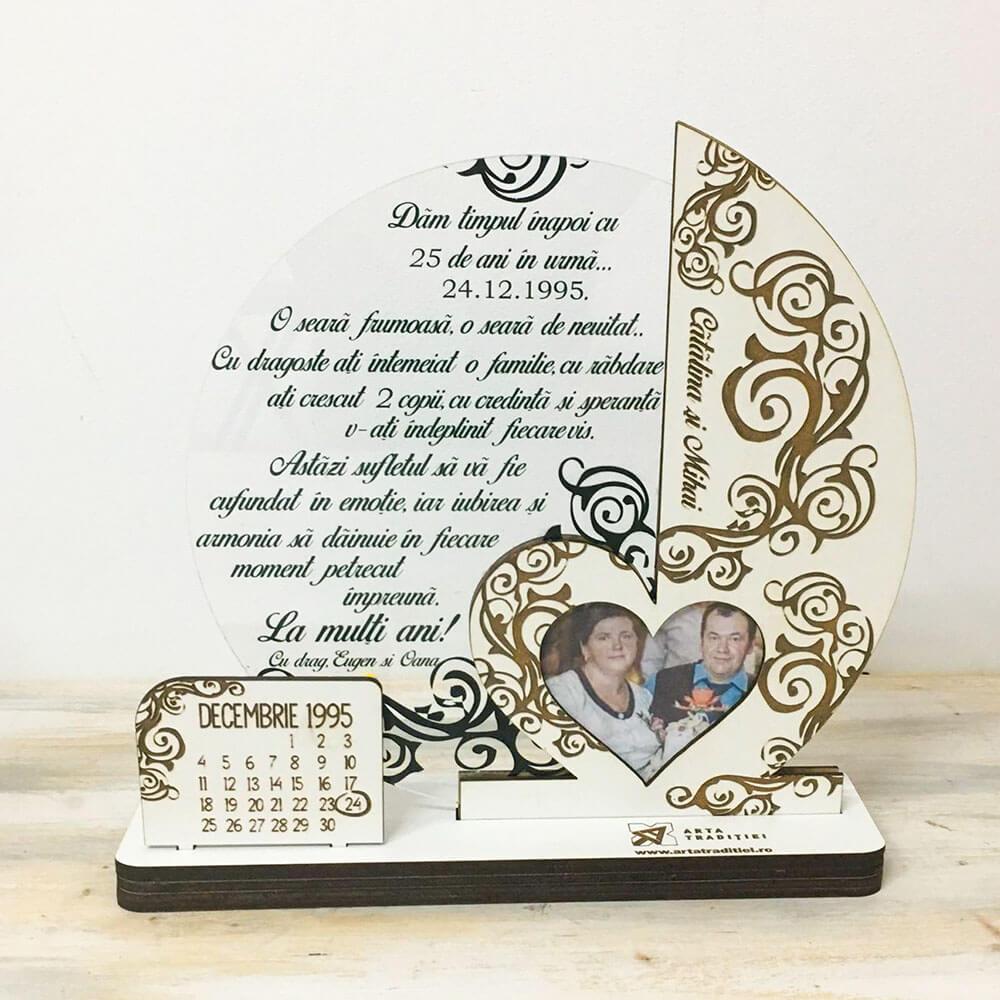 triofeu nunta de argint