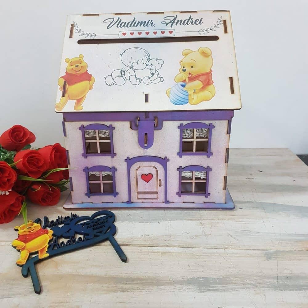 casuta dar botez winnie the pooh