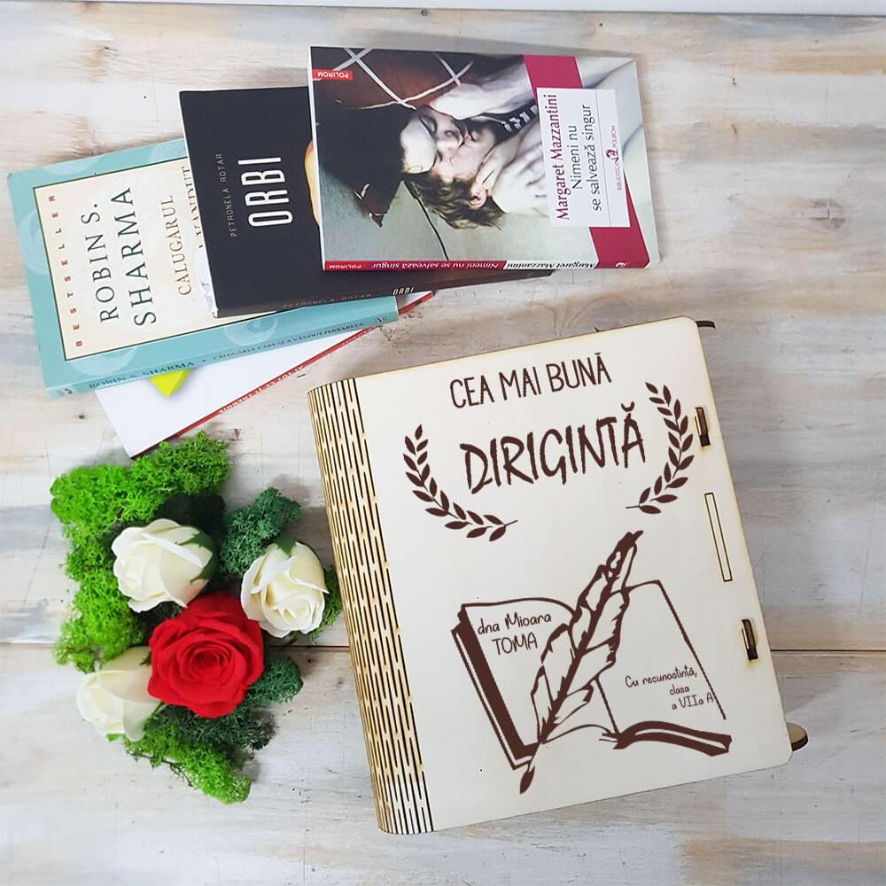 carte diriginta aranjament trandafir criogenat si trandafiri de sapun