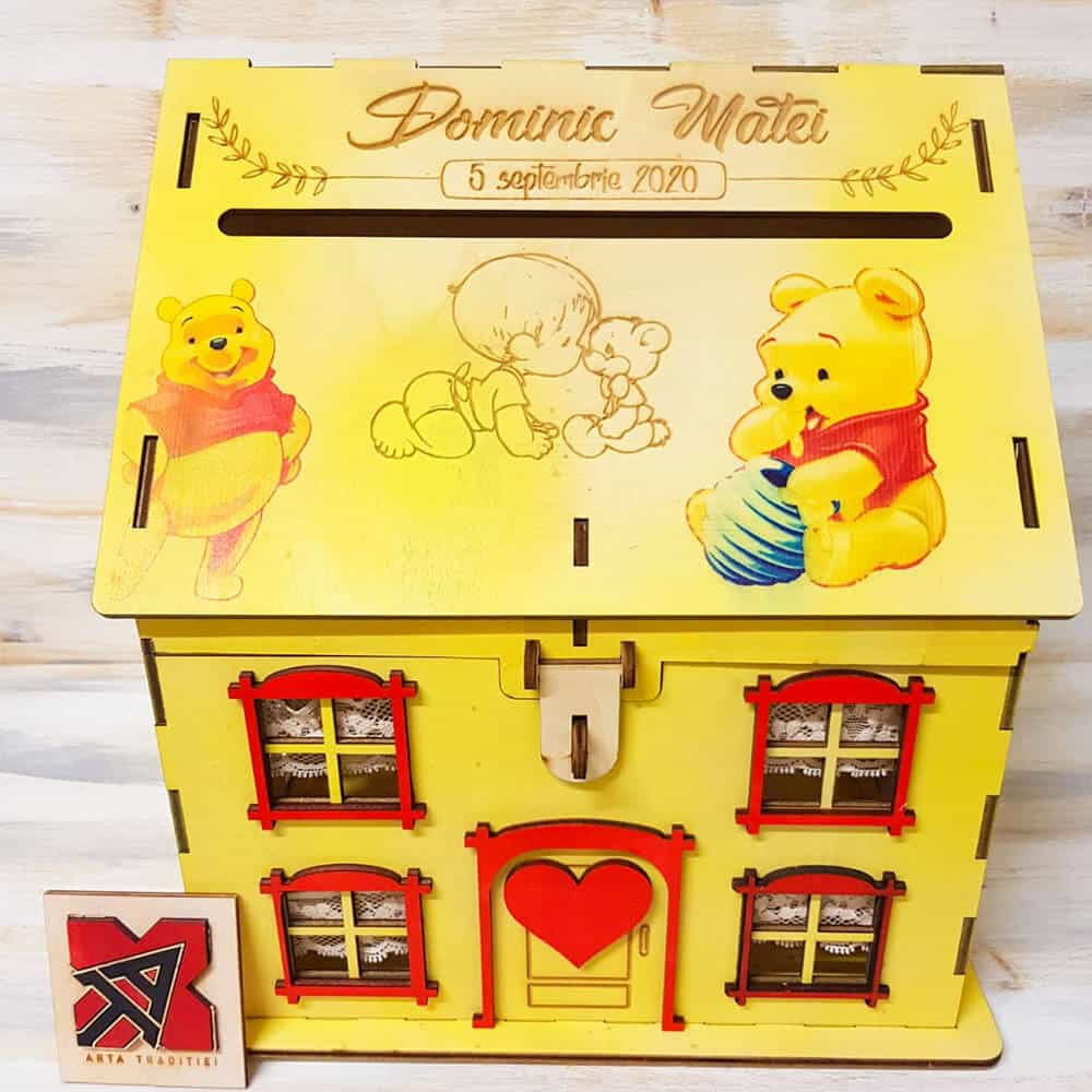 casuta dar winnie the pooh