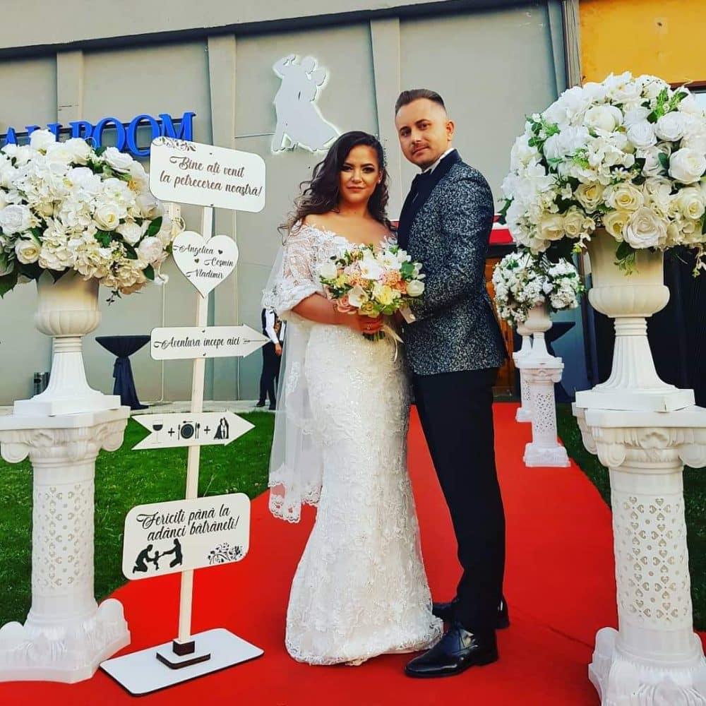 indicator stativ nunta