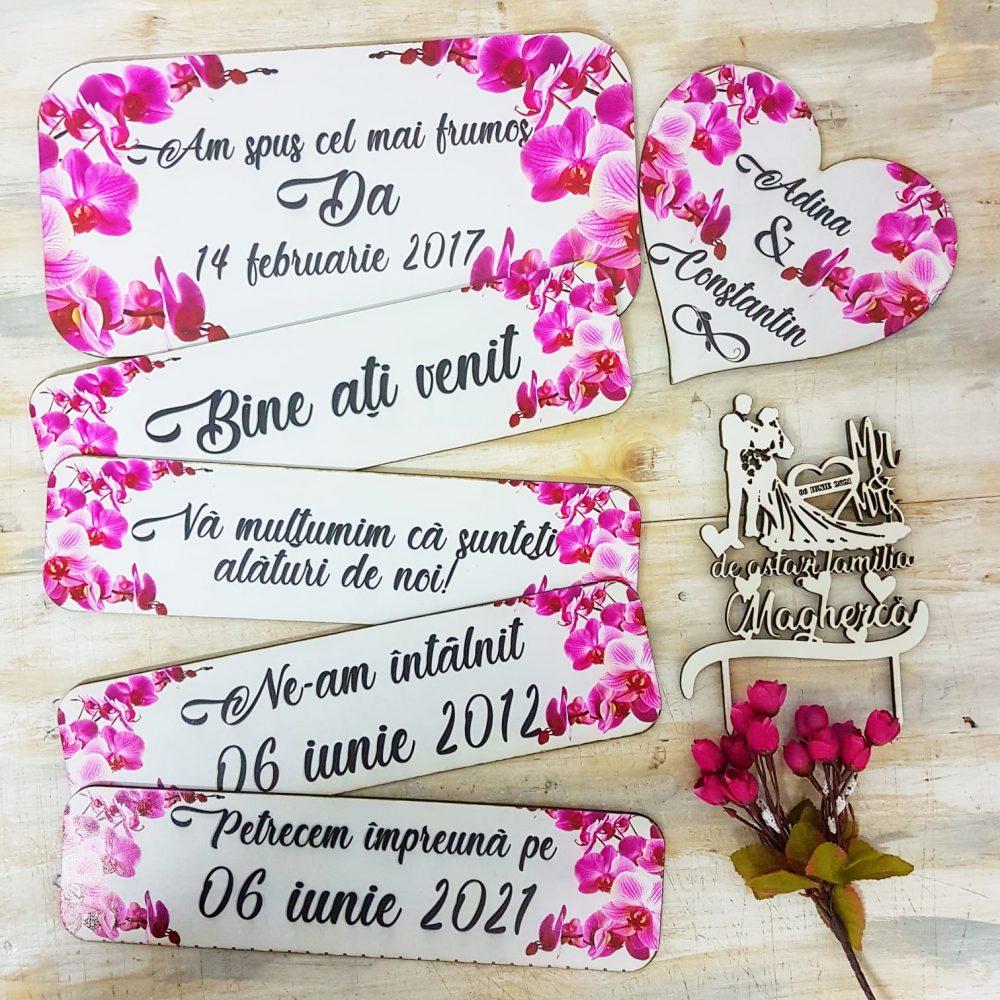 indicator nunta decorat personalizat